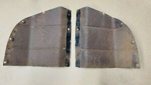 1941 1942 1946 Chevy Gmc Pickup Truck Grille Radiator Side Splash Pan Air Baffle