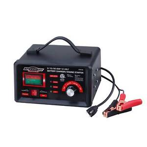 Portable Engine Starter Battery Charger 12 Volt Handy Tool Circuit Breaker