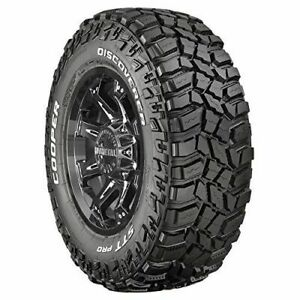Set Of 4 Cooper Discoverer Stt Pro Mud terrain Tires 33x12 50r15 Lrc 6ply