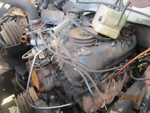 Ford 370 Engine For Parts Or Rebuild Not A Running Motor