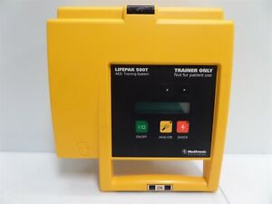 Meditech Physio control Lifepak 500t Aed Trainer As Is