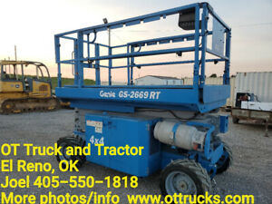 2012 Genie Gs 2669 Rt 4x4 All Terrain Scissor Lift Dual Fuel Gs2669