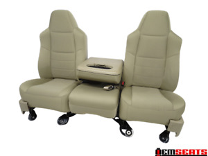 Ford Super Duty Superduty F250 F350 Cloth Camel Tan Seats 2008 2009 2010