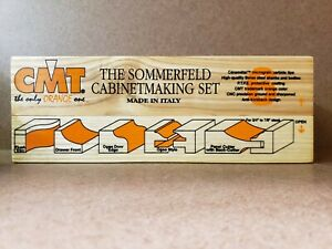 Cmt Tools 800 515 11 6 piece Sommerfeld Cabinetmaking Set 1 2 inch Shank