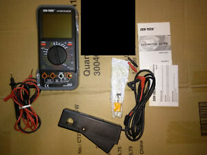 Cen Tech Lcd Automotive Multimeter With Tachometer Kit 95670