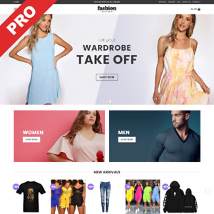 Fashion Clothing Store Turnkey Dropshipping Business Automated Website