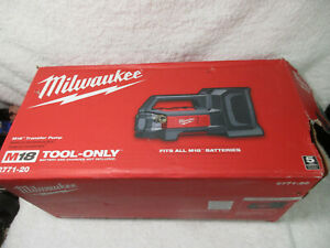 Milwaukee Fuel M18 2771 20 18 volt 480 gpm Water Transfer Pump Bare Tool
