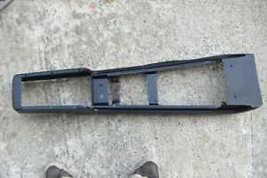 Black 1969 1970 Ford Mustang Boss Mercury Cougar Eliminator Center Console Base