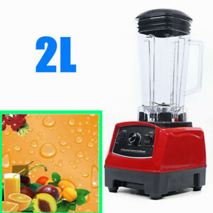 2l 1500w Commercial Kitchen Grade Blender Mixer Juicer Fruit Blender Mixer
