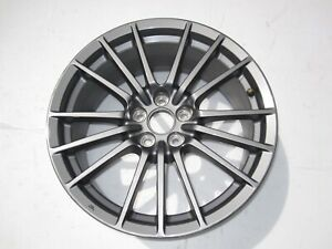 10 2014 Subaru Impreza Wrx Wheel 17x8 Alloy 15 Spoke Gun Metal Gray Oem Rim