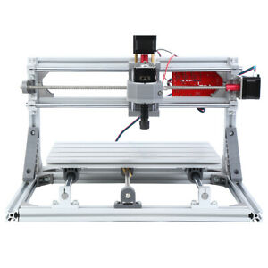 3018 Cnc Machine Router 3 axis Engraving Pvc Wood Carving Diy Milling Kit