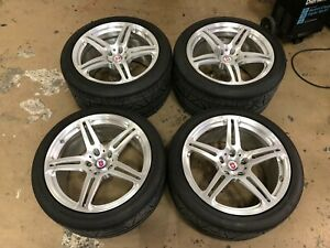Hre P47sc Wheels And Nitto Tires For C6 Corvette Z06 Zr1 Grand Sport 427