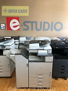 Ricoh Savin Mp C4504ex 35k Meter Only Finisher Large Capacity Tray Included