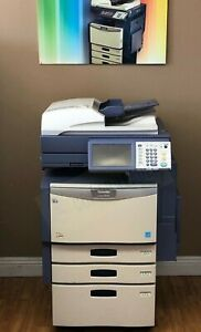 Toshiba 3540c b w Printer copier scanner fax low Meter finisher Included
