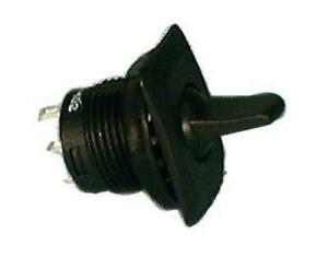 Philmore 30 10328 Spdt On off on Round Paddle Lever Toggle Switch 6a 125v Ac