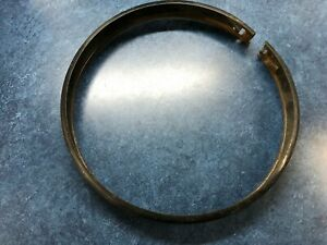 Vintage Dietz 9 82 Light Ring 7 Diameter Black Chrysler ford gm