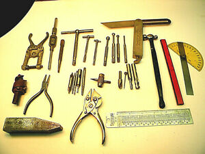 Pd5 Super Junk Box Shop Tools Starrett Craftsman Lufkin Machinist Mechanic