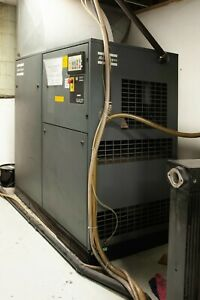 Atlas Copco Ga37 50 Hp Rotary Screw Air Compressor General Pneumatics Dryer