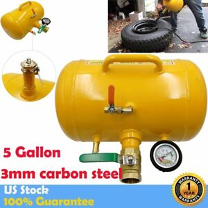 5 Gallon Air Tire Bead Seater Blaster Tool Seating Inflator Truck Atv 145 Psi