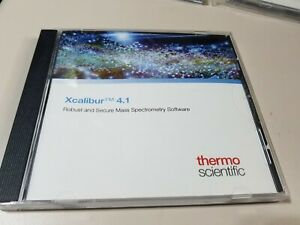 Thermo Scientific Xcalibur 4 1 Mass Spec Software P n Xcali 64903