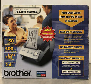 Brother Ql 500 Label Thermal Printer New Open Box