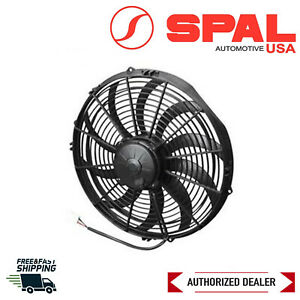 Spal 14 High Performance Profile Curved Blade Electric Puller Fan 1864 Cfm
