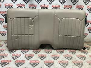 93 02 Camaro Ss Firebird Trans Am Oem Rear Seat Upper Tan Leather