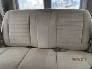 1992 1995 Gmc Safari Chevy Astrovan 3rd Second Row Cloth Bench Seat Oem Nice