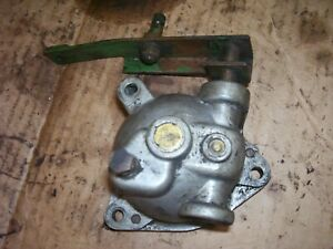 Vintage Oliver 55 Gas Tractor Engine Governor Arm Cover Assembly