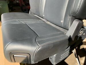 2014 2018 Toyota Tundra Limited Front Rear Seat Set Black Leather Heated Power