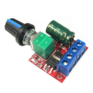Mini Dc Motor Pwm Speed Controller 3v 35v Speed Control Switch 5a Led Dimmer