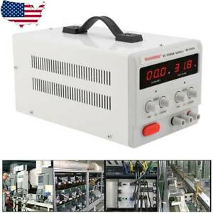 Mini Adjustable Switch Dc Power Supply Led Digital Display Labs Production Line