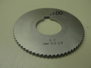 Horizontal Milling Cutter 100 Thick 1 Arbor Item 348