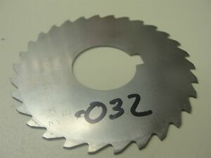 Horizontal Milling Cutter 032 Thick 1 Arbor Item 281