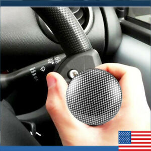 Collapsible Car Power Steering Wheel Suicide Spinner Handle Knob Booster