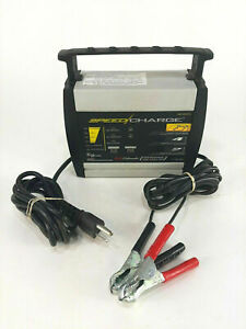 Schumacher Electric Speed Charge Automatic 6amp Battery Charger Sc 600a 6v 12v