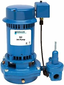 Goulds Vj10 1hp Deep Water Well Jet Pump 115 230v Single Phase