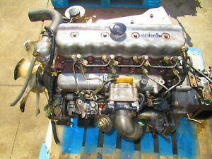 Jdm Nissan Atlas Patrol Fd35 3 5l Diesel Engine 5 Speed Manual Transmission Fd35