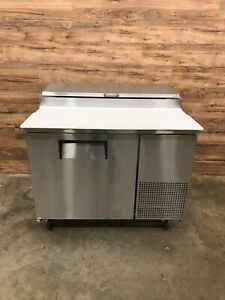 2018 True Tpp 44 44 Pizza Prep Table With Refrigerated Base 115v