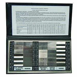 Flexbar Calibrated Surface Roughness Standards Set 16008 With Certificate New