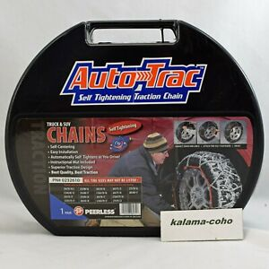 Auto Trac Track 0232610 Tire Snow Chains Self Tightening