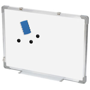 Magnetic Whiteboard 18 X 24 Inch White Board Wall Hanging Board With Eraser