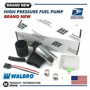 Walbro Gss342 255lph High Pressure Psi Intake Racing Fuel Pump Universal New Us