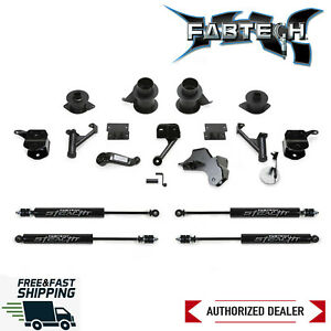 Fabtech 5 Basic Lift Kit System With Stealth Shocks 2013 2018 Ram 2500