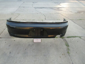 03 05 Mitsubishi Lancer Evolution 8 Oem Black Rear Bumper Cover Evo8 Ct9a