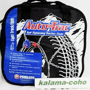 Auto Trac Track 0232105 Lt Suv Tire Snow Chains Self Tightening