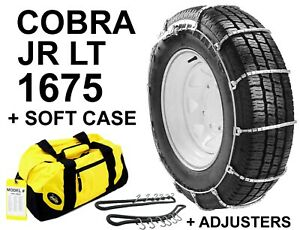 Cobra Jr 1675 Lt Suv Cable Tire Snow Chains