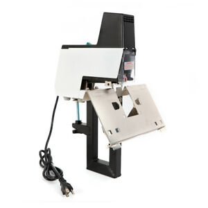 Flat Saddle Stapler Electric Auto Bookbinding Machine Binder Binding Stitcher
