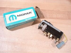 Nos Mopar 1959 61 Dodge Plymouth All Ex Chrysler Imp Headlight Switch Nib
