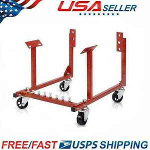 Top Quality 1000lb Auto Engine Cradle Stand For Chevrolet Chevy W Dolly Wheels
